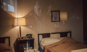 The Lorraine motel, now the National Civil Rights Museum, made an exhibit out of the original room King stayed in and the balcony where he was assassinated.
