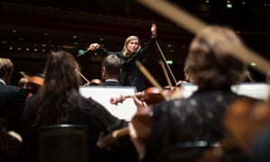 A grand sweep of British music … Mirga Gražinytė-Tyla and the CBSO in concert at Birmingham Symphony Hall.