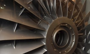 """File photo of Warren East, CEO of Rolls-Royce, posing for a portrait in front of a Pegasus airplane engine at the company aerospace engineering and development site in Bristol in BritainWarren East, CEO of Rolls-Royce, poses for a portrait in front of a Pegasus airplane engine at the company aerospace engineering and development site in Bristol, Britain in this December 17, 2015 file photo. Rolls-Royce is expected to report preliminary full-year results this week. REUTERS/Toby Melville/FilesGLOBAL BUSINESS WEEK AHEAD PACKAGE - SEARCH """"BUSINESS WEEK AHEAD FEBRUARY 8"""" FOR ALL IMAGES"""