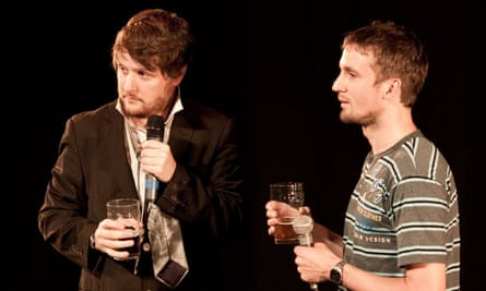 An endearingly offbeat conclusion … Tim Key, left, and Tom Basden
