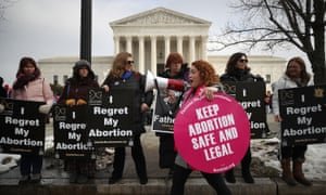 'His constant rallying cry of overturning Roe and elimination abortion rights has undoubtedly emboldened state legislators to take action that they might not have dared to take.'