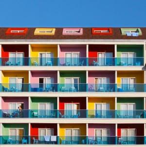 A hotel in Manavgat district, Antalya  by Turkish architect photographer Yener Torun.