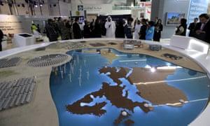 Visitors at Abu Dhabi Sustainability Week 2016