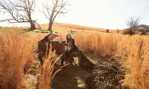 Beautiful moments of crumpled rock … Sheryl Crow