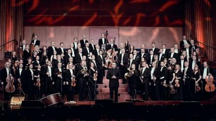 Vasily Petrenko with the Oslo Philharmonic Orchestra.