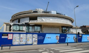 The new home of the Blavatnik School of Government (BSG), under construction in April this year