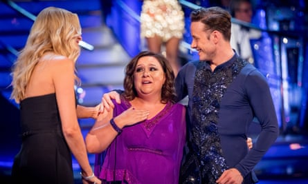 It takes two to tango... Susan Calman and partner Kevin Clifton on Strictly Come Dancing.