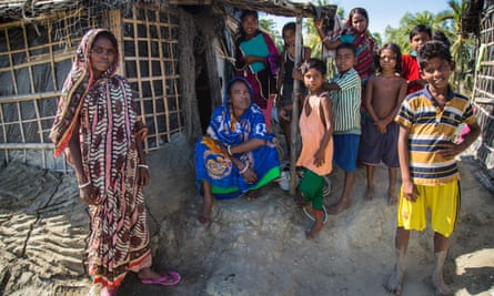 Most Kutubdia villagers have fled to a shanty town behind Cox's Bazar, the longest stretch of sandy beach in the world and a popular tourist destination for middle-class Bangladeshis.