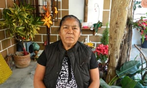 Gisela Mota's mother, Juana Ocampo, 58.