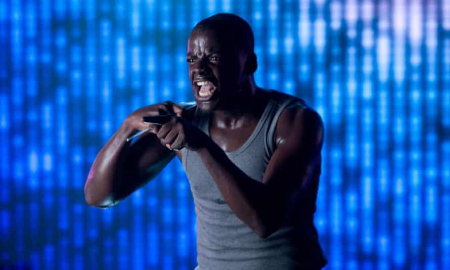 Daniel Kaluuya in the Black Mirror episode Fifteen Million Merits.