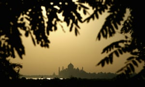Pollution has been turning the Taj Mahal yellow in recent decades.