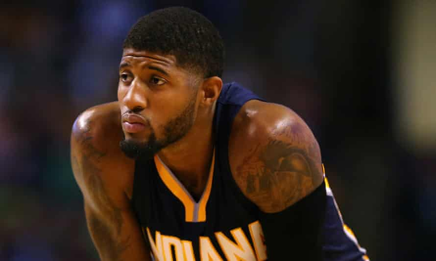 Paul George averaged 29.5 points in November – and was awarded the NBA Eastern Conference player of the month.