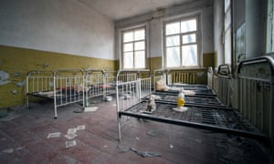 Abandoned hospital.
