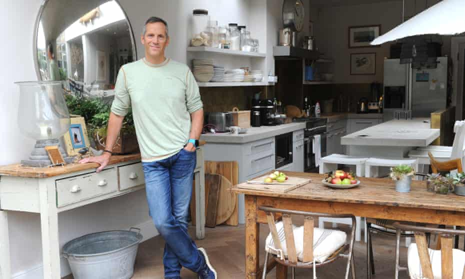 Phil Howard in his kitchen
