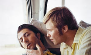 Hoffman with Jon Voight in Midnight Cowboy.