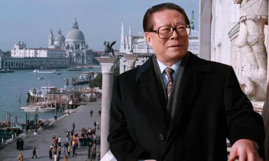 A true cosmopolitan President Jiang Zemin.