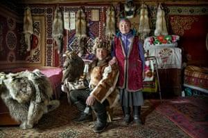 Shohan and his wife Perna