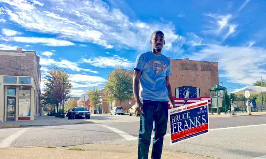 Bruce Franks, a Ferguson activist and the Democratic nominee for a seat in the Missouri state house.