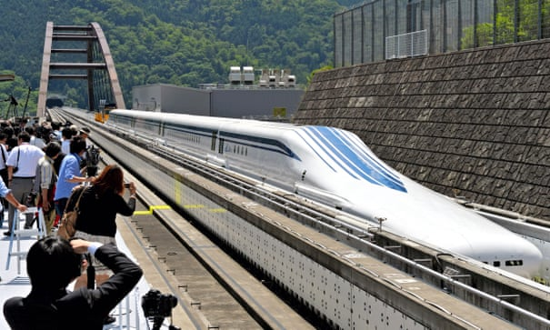 Magnetic levitation: the return of transport's great 'what if