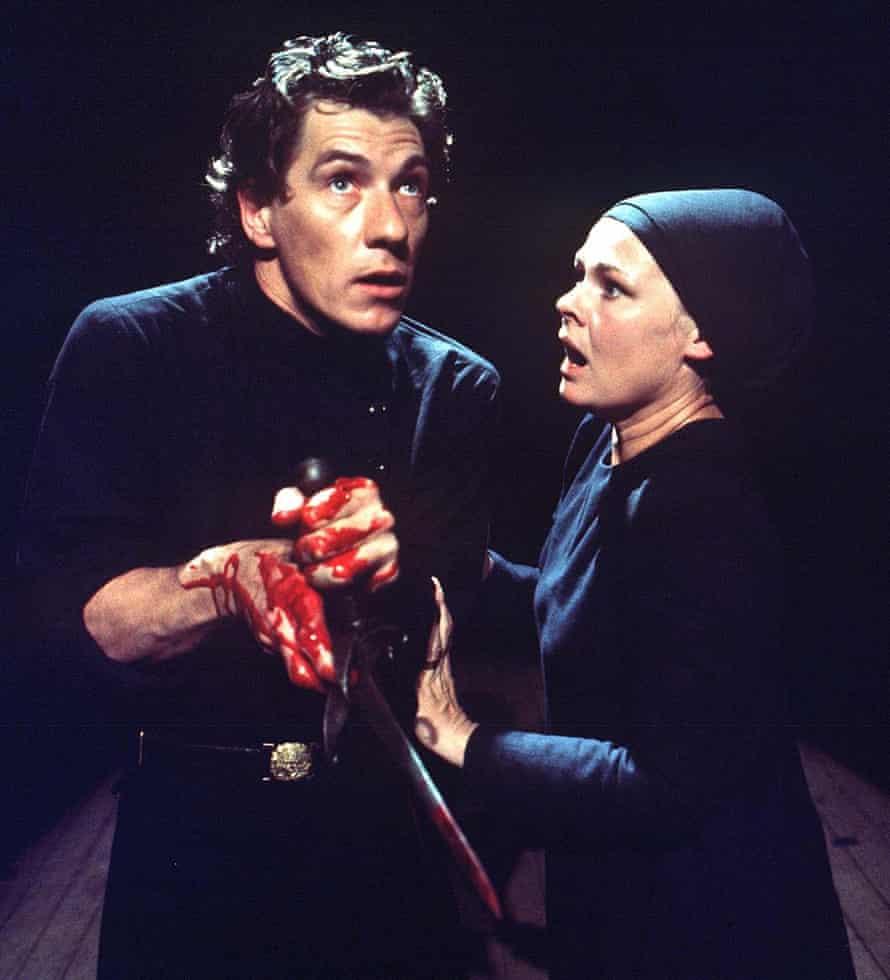 Revelatory … Judi Dench and Ian McKellen in Macbeth in 1976.