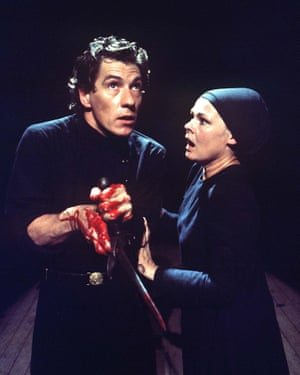1976 With Judi Dench as Macbeth and Lady Macbeth at the Other Place, RSC, Stratford-upon-Avon