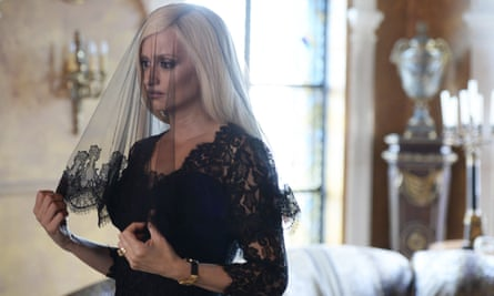 Penelope Cruz as Donatella Versace in a scene from The Assassination of Gianni Versace: American Crime Story.