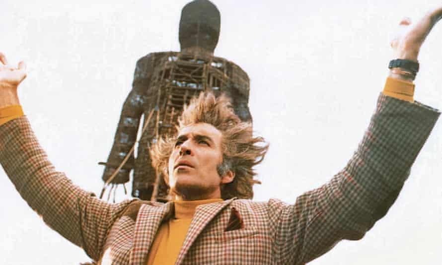 Christopher Lee as Lord Summerisle in The Wicker Man (1973).