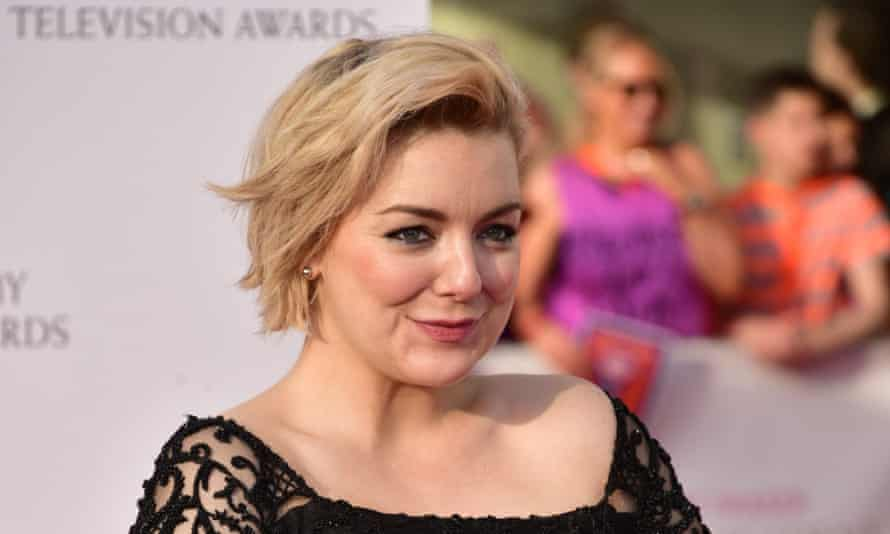 Sheridan Smith at the Baftas.