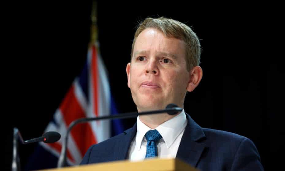 New Zealand's Covid-19 response minister, Chris Hipkins