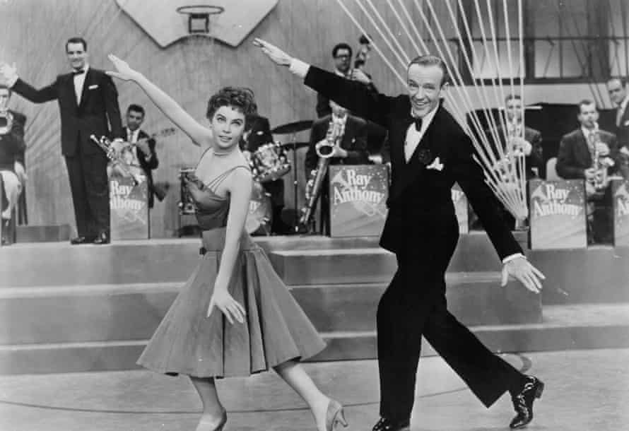 Fred Astaire and Leslie Caron in 1955's Daddy Long Legs