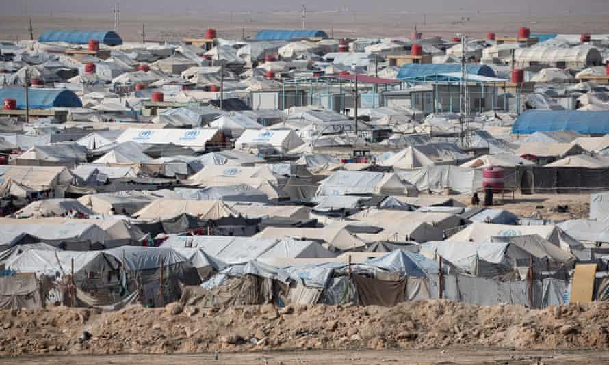 Al-Hawl displacement camp