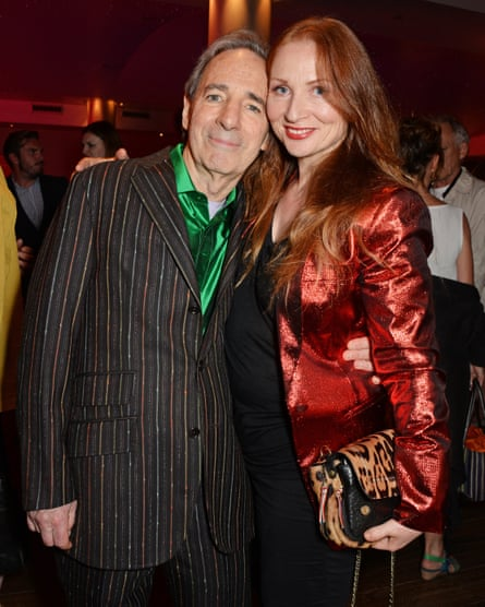 'I wanted to keep her around' … Harry Shearer and his wife Judith Owen in 2014.