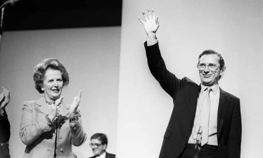 Fowler with Thatcher while health secretary.