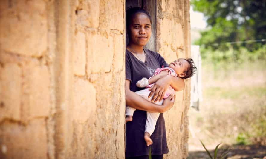 Natalia, from Timor Leste, fell pregnant as a teenager accidentally, ending her education.