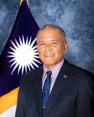 President of the Marshall Islands David Kabua
