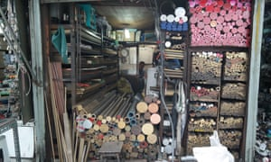 Makjer culture … an industrial workshop in Sewoon Sangga.
