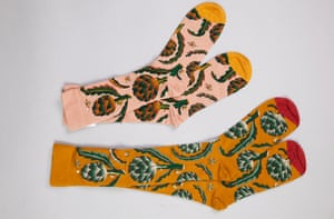 Bonne Maison artichoke socks
