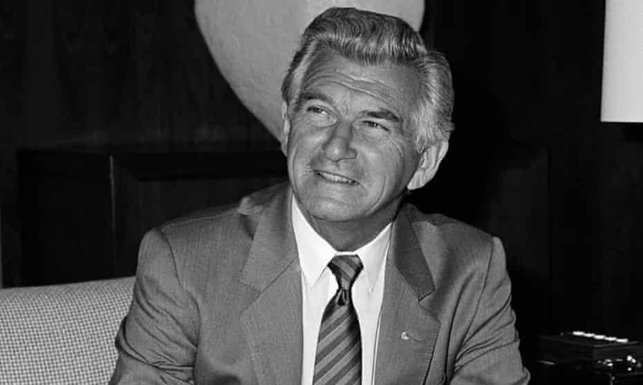 Bob Hawke circa 1970s
