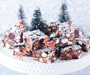 Nigella Lawson's Christmas rocky road.