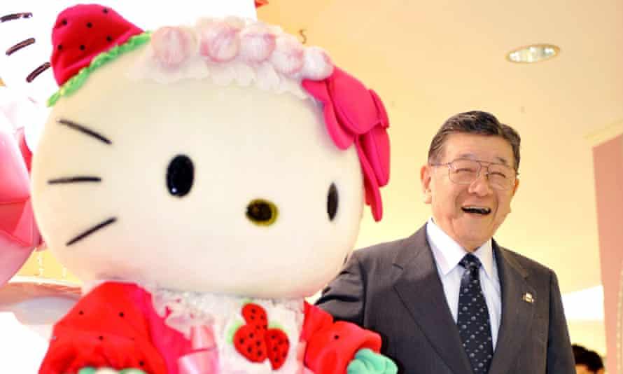 Hello Kitty's CEO, Shintaro Tsuji, pictured in 2009