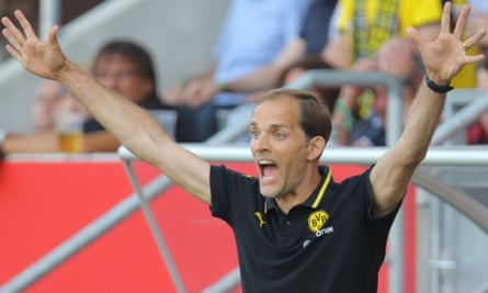 Thomas Tuchel has taken a hands-on approach to training at Dortmund