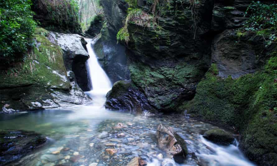 Waterfall Glen Maye Isle of Man