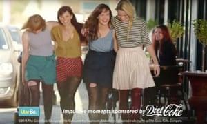 diet coke Impulsistas advert