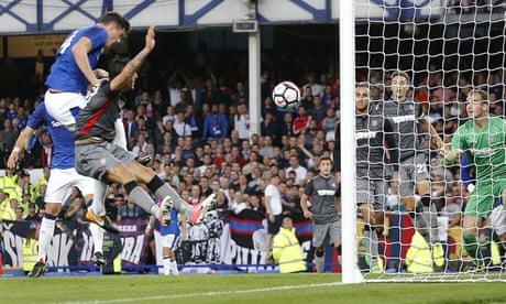 Michael Keane off mark as Everton beat Hajduk Split in Europa League
