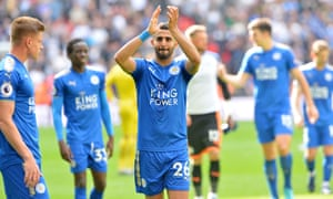 Riyad Mahrez effectively went on strike after Leicester stopped him joining Manchester City in January.