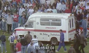 An image released by the Hillsborough inquest.