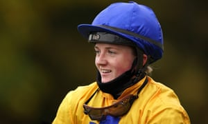 Jockey Hollie Doyle after winning the Phil Bull Trophy Conditions Stakes on Stag Horn at Pontefract.