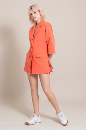 Orange blazer, £168, Blond Gone Rogue at wearthlondon.com
