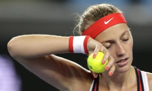 Kvitova, 26, has struggled with injuries and a change of coach.