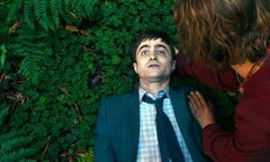 'His tumescence proves to be the directional radar the pair need to find their way home' … Daniel Radcliffe comes in handy for Paul Dano in Swiss Army Man